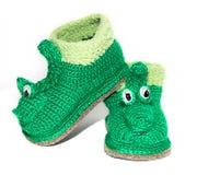 Baby woolen socks Stock Photography