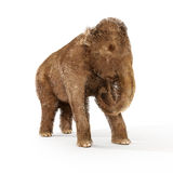 Baby Woolly Mammoth Illustration Stock Image