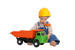 Baby worker Stock Photography