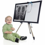 Baby X-Ray Tech Royalty Free Stock Images
