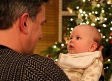Baby's White Bib Stock Photography
