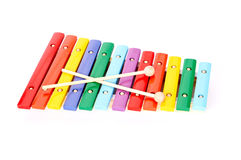 Baby xylophone Stock Photos