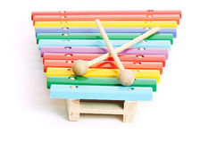Baby xylophone Stock Images