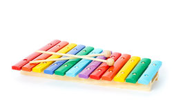 Baby xylophone Royalty Free Stock Photo