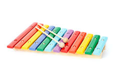 Baby xylophone Royalty Free Stock Images