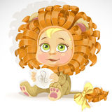 Baby zodiac - sign Leo Stock Photos