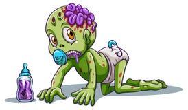 A baby zombie Royalty Free Stock Photo