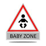 Baby zone Stock Images