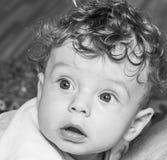 Baby zu Hause Stockfotos
