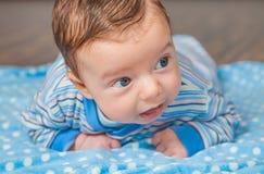 Baby zu Hause Lizenzfreies Stockbild