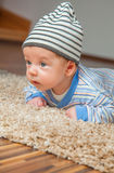 Baby zu Hause Lizenzfreie Stockbilder