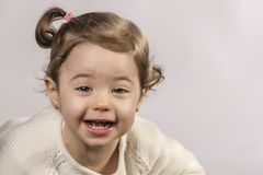 Baby zwei Jahre alt Lizenzfreies Stockfoto