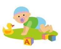 Baby1 stock illustration