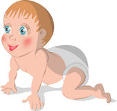 Baby2 ilustracja wektor