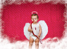 Babyamor Stockfoto