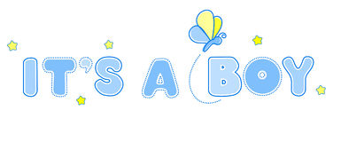 Babyansage Lizenzfreies Stockbild