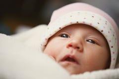 babyansikte Fotografering för Bildbyråer