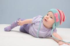 Babyaufstellung Stockfotografie