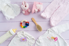 Babyausrüstung Stockfotografie