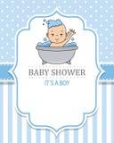 Babybaden vektor abbildung