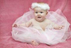 Babyballerina stockbild