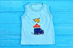 Babybaumwolle Druckt-shirt Lizenzfreies Stockfoto