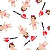Babybeschaffenheit Stockbilder