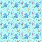 BabyBuggyBlue-Paper_by_Foxxee Stock Photos