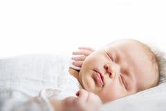 Babyclose-up Stock Afbeeldingen