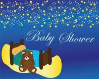Babydouche vector illustratie