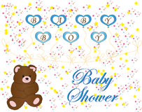 Babydouche Royalty-vrije Stock Foto's