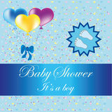 Babydouche royalty-vrije illustratie