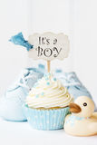 Babydouche cupcake Stock Foto's