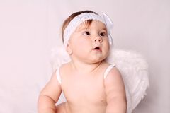 Babyengel stock foto