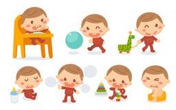 Babyentwicklungsstadien Lizenzfreie Stockfotos