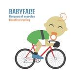 Babyface 库存例证