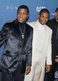 Babyface y Usher foto de archivo libre de regalías