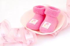 babygirl υποδοχή Στοκ φωτογραφία με δικαίωμα ελεύθερης χρήσης