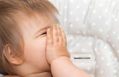 Babygirl, есть, человек, кавказская этничность 6 стоковые фото