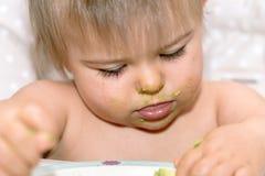 Babygirl, есть, человек, кавказская этничность 9 стоковое фото rf