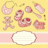Babygirl stock illustratie