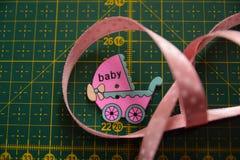 Babyhandwerksversorgungen stockbild