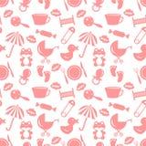Babyish seamless pattern vector illustration