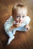 Babyjongen stock foto's