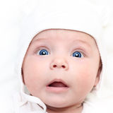 Babyjongen. Stock Foto's