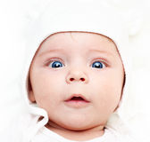 Babyjongen. Royalty-vrije Stock Foto's