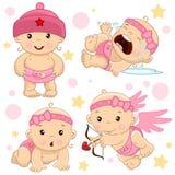 Babyjongen 1 deel vector illustratie