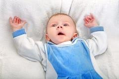 Babyjongen Geeuw Royalty-vrije Stock Foto's