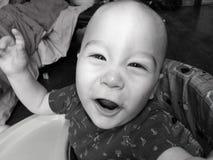 Babyjongen met Glanzende Ogen royalty-vrije stock foto
