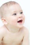 Babyjongen na bad Royalty-vrije Stock Foto